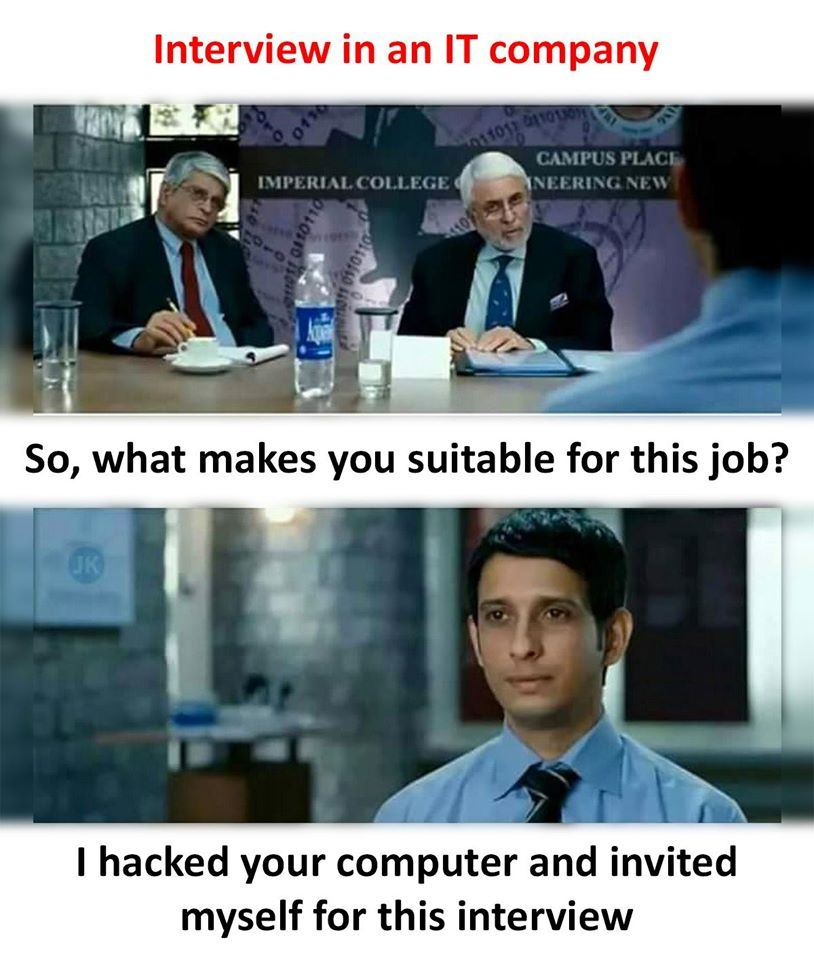 Interview in an IT company