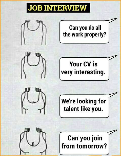 only job interview