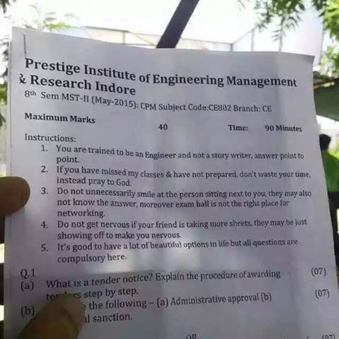 prestige institute of engineering management research indore