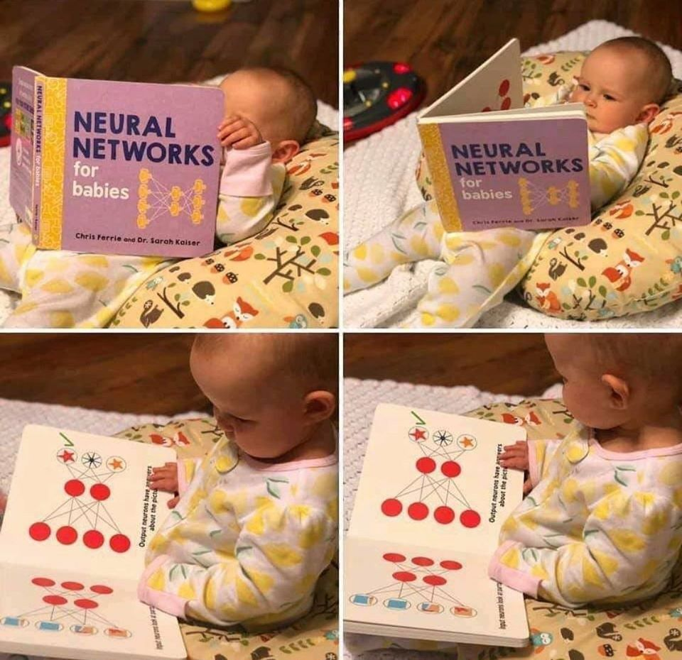 This baby is going places...