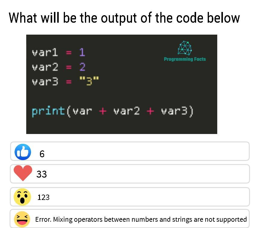 What will be the output of the code below
