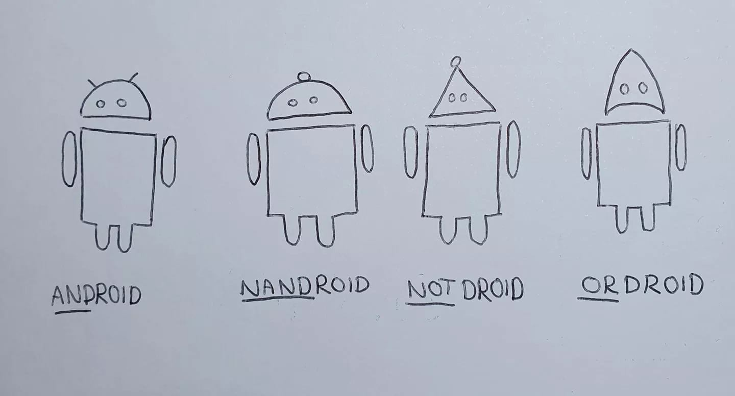 XORDROID cannot be my friend if he is also your friend